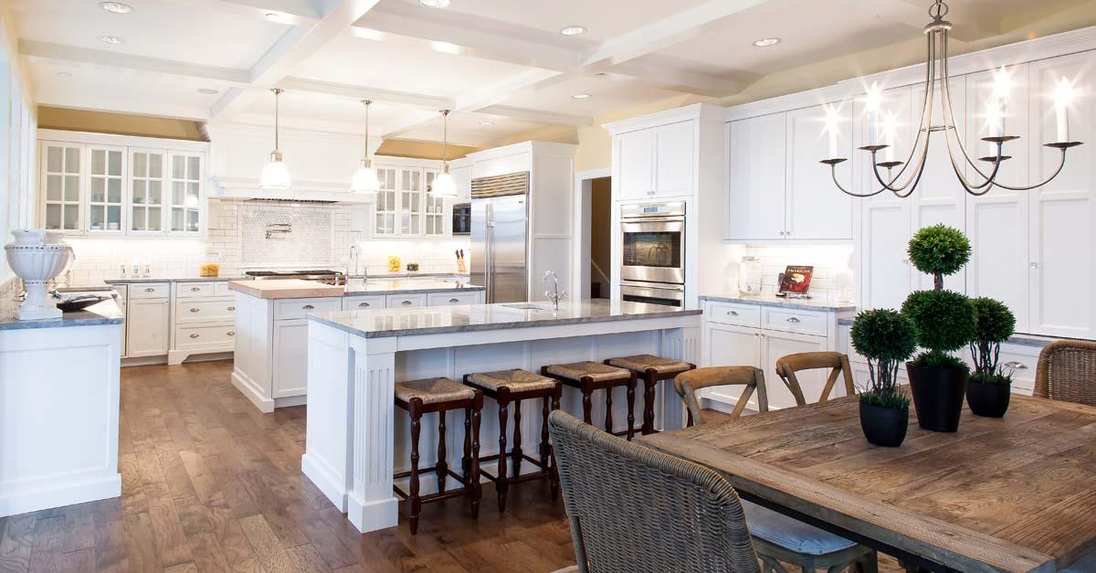 Classic white for Kitchen cabinets vancouver wa