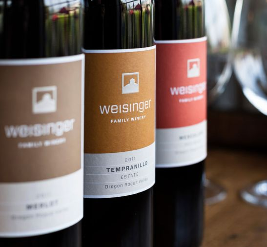 Weisinger Family Winery established Ashland's first estate winery.