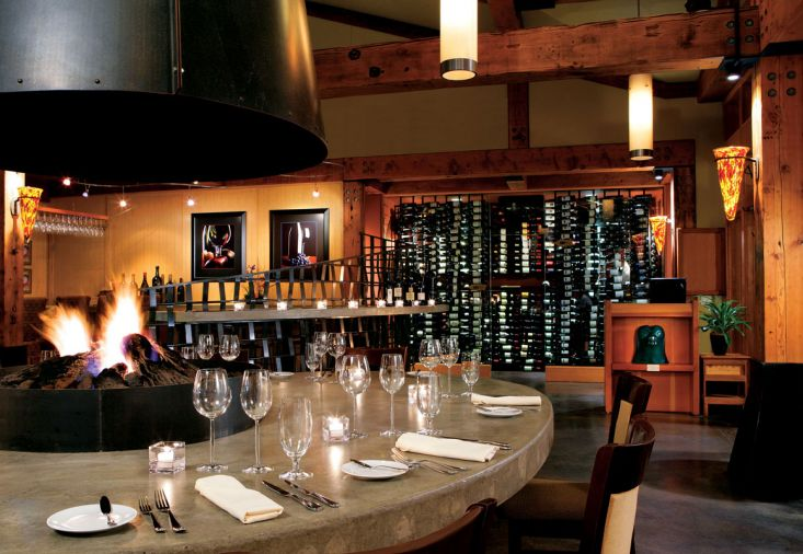 Barking Frog's extensive and eclectic wine list runs the gamut from crowd-pleasing Washington cabs to hard-to-find lots from small French producer Chateau Ste. Michelle, Washington's largest wine producer, and a haven for Riesling-lovers.