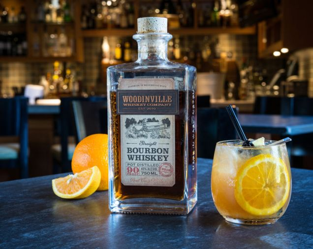 When you're tired of wine, Woodinville Whiskey makes bourbon and rye whiskey out of locally grown grain.