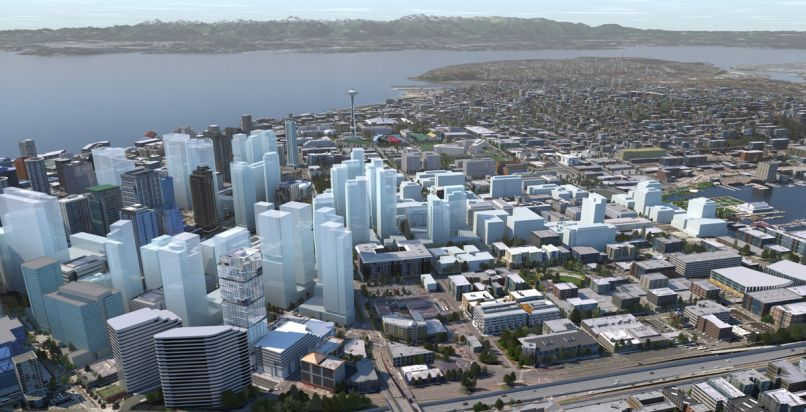 More than 50% of the jobs in all of Seattle are in downtown. 