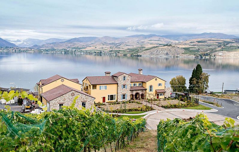 Siren Song Vineyard Estate and winery sits above Lake Chelan, it's a great destination to enjoy food and wine, music and events.