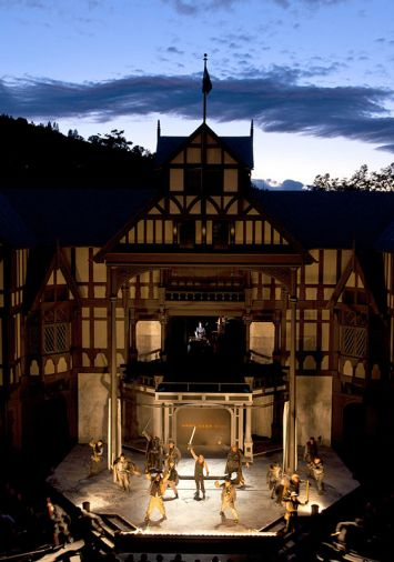 Grab tickets for evening outdoor performances of Shakespearean and contemporary works at the Allen Elizabethan Theatre.