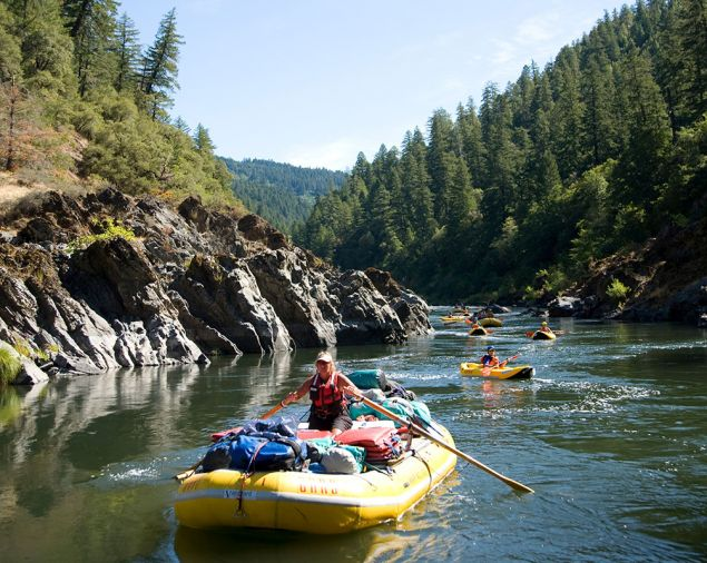 The majestic Rogue river flows from mountain to sea through the region—raft, fish or camp along its waters.