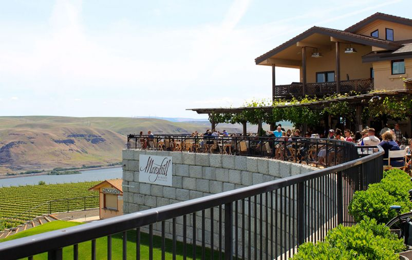 Maryhill's 3,000 sq. ft. tasting room and 1,200 sq. ft. Reserve Room with a private courtyard draw more than 75,000 wine enthusiasts from around the globe each year, ranking among the top-five most visited wineries in the state.