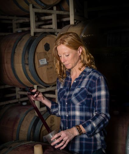 Sarah Hedges Goedhart, Head Winemaker at Hedges Family Estate.