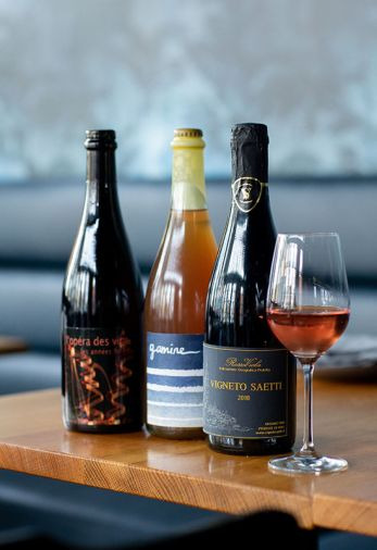Estes + Dame offers Jean-Pierre Robinot long fermented French wines, local Gamine and Vigneto Saetti Lambruscos.