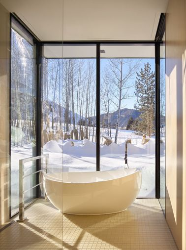 Hydro Systems Picasso free-standing tub.