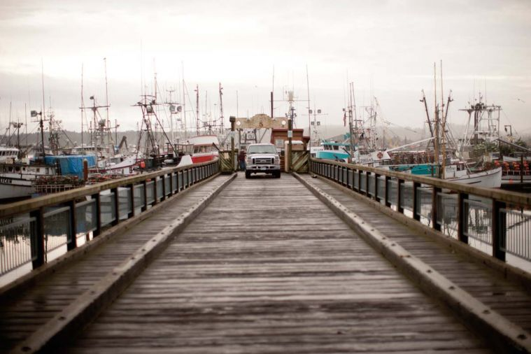 Newport's fishing fleet, the largest in Oregon, also houses one of the last wooden boat fleets.