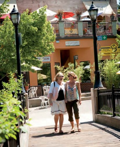 Exploring Ashland's many quaint shops filled with originals sourced from international and local artists is a passion for shoppers.