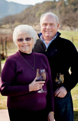Wine is as much about people as it is grapes and soil. Dorothy Garvin and son Roy help manage Cliff Creek Cellars.
