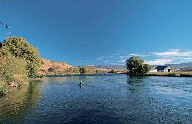 In his original release <em>Fifty Places to Fly Fish Before You Die</em>, fly fishing expert and author, Chris Santella, places the Deschutes on his list of the world&rsquo;s greatest destinations (&copy;Tabori & Chang).