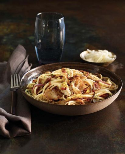 <a href='diane-morgan-jerusalem-artichoke-linguine'>Jerusalem Artichoke and Artichoke Heart Linguine</a>