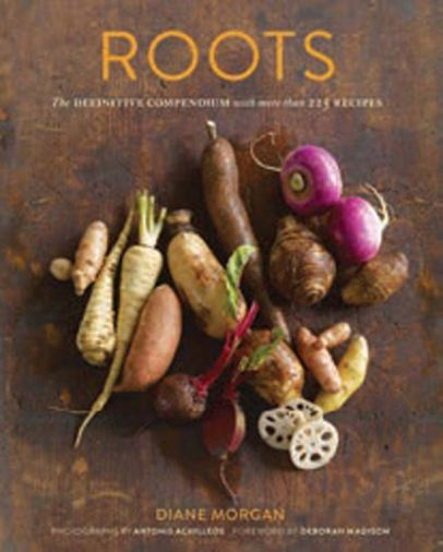 <em>Roots: The Definitive Compendium with more than 225 Recipes</em>. Photographs by Antonis Achilleos. Published by Chronicle Books. Winner of the 2013 James Beard Cookbook Award for Vegetable Focused and Vegetarian.
