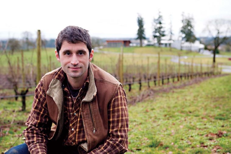 Robert Schultz is the vineyard manager for Stoller Family Estate, and emphasizes LIVE-certified sustainable growing practices. Their pinot noir characteristically expresses a combination of red to darker fruits, spice, and fine-grain tannins.