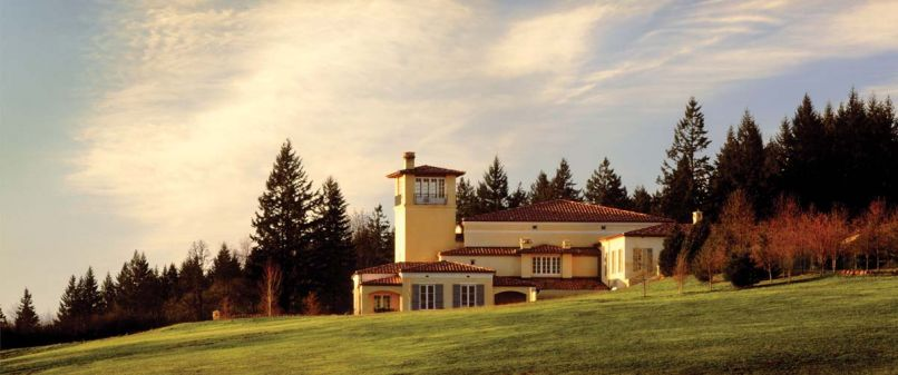 Domaine Serene's Italian inspired winery is a Dundee Hills landmark, and their perennially high scored wines are some of the most desired from the appellation.