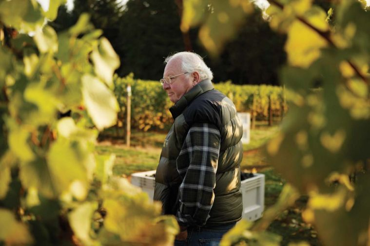 At Durant Vineyards, one of the region's leading independent vineyards and one of the earliest planted, with vines going into the ground in 1973, Ken Durant reflects on the harvest. As pioneers in the Oregon wine industry, the Durant family has focused on producing premier pinot noir, pinot gris and chardonnay.