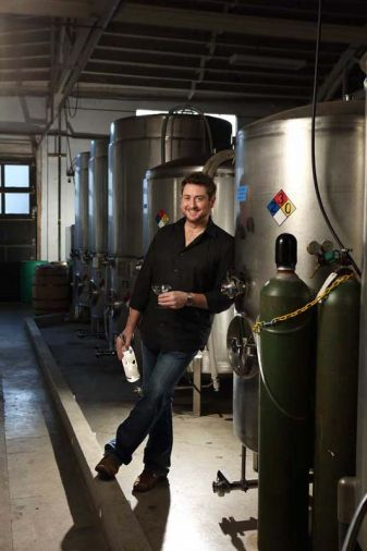 Ryan Csanky, distiller of Aria Portland Dry Gin, an expression of classic London Dry gin.