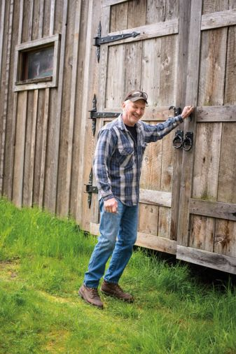 Bob Denman looks, at minimum, 20 years younger than he really is. After a full career in advertising and nursery retail, Bob and his wife moved from Orange County to Boring, Oregon where he now makes some of the most beautiful tools in Oregon.
