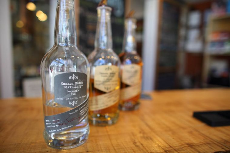 Cannon Beach Distillery makes small-batch spirits on site. Stop by for a sample of Dorymens' Rum or Lost Buoy Gin. Downtown at 255 N. Hemlock.
