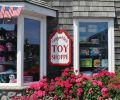 In midtown, at the intersection of Hemlock and Gower, Geppetto's Toy Shoppe, 200 N. Hemlock, is a delightful destination for little visitors. Shelves are stocked with games, books and puzzles.