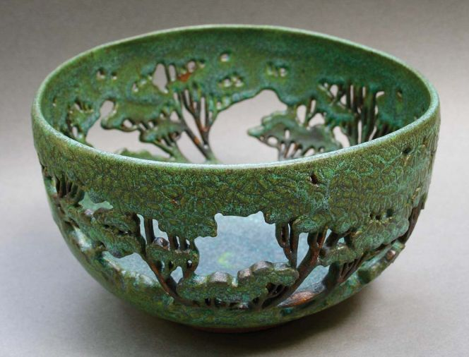 Visit Orcas Island Artworks to view ceramics from artists like Mary Jane Elgin.