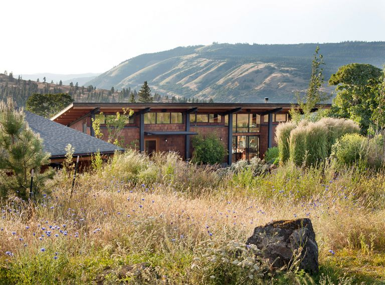 With sweeping vistas of the Columbia Gorge, this naturalistic oasis in Mosier, Oregon, proves that a garden can be beautiful and tough at the same time.